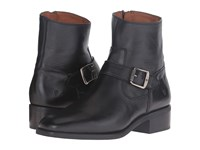 Frye Hannah Engineer Black Soft Full Grain Women's Boots