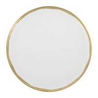 Canvas Home Dauville Dinner Plate Gold