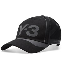 Y 3 Constructed Cap Black