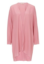 Vera Mont Unlined Silk Dress Coat Pink
