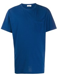 Closed Relaxed Fit Crew Neck T Shirt Blue