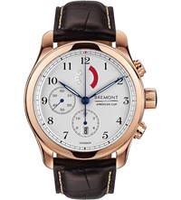 Bremont Ac R Rg Regatta Rose Gold Plated Chronograph Watch