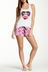 Paul Frank Essentials Pj Set White