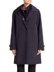 Jane Post Double Coat Navy