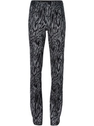 Missoni Shimmering Leggings Black