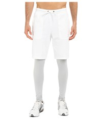 Puma Evo Layered Tights White Men's Casual Pants