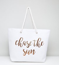 South Beach Rose Gold Chase The Sun Bag Rose Gold