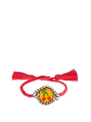Shourouk Cherry Bracelet Red