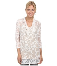 Lole Sheer Top White Gelato Women's Long Sleeve Pullover