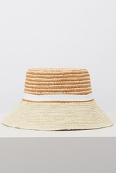 Sensi Studio Straw Hat Ochre Natural