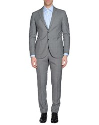 Luigi Bianchi Mantova Suits And Jackets Suits Men Grey
