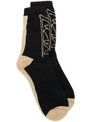 Alyx Printed Socks Black