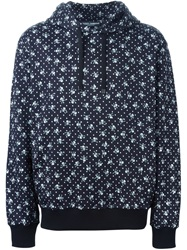 Dolce And Gabbana Skull And Crossbones Print Hoodie Black