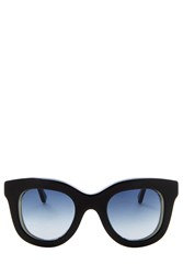 Cutler And Gross Chunky Frame Sunglasses
