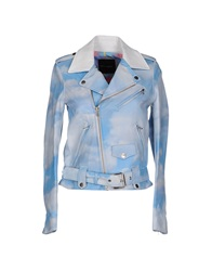 Each X Other Jackets Sky Blue