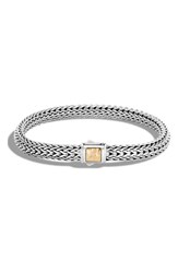 John Hardy Women's Classic Chain Hammered Clasp Bracelet
