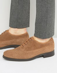 Selected Homme Oliver Woven Suede Shoes Brown