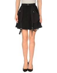 Jeremy Scott Skirts Mini Skirts Women Black