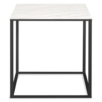 Blu Dot Minimalista Side Table Black Marble