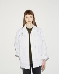 Alexander Wang Daze Denim Jacket White