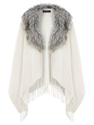 Dorothy Perkins Fur Collar Cape
