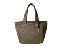 Le Sport Sac City Chelsea Tote Metallic Bronze Quilted Tote Handbags Olive