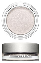 Clarins 'Ombre Iridescente' Cream To Powder Iridescent Eyeshadow Silver White 08