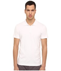 Theory Boyd.Census Polo White Men's Short Sleeve Pullover
