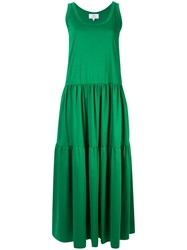 Ck Calvin Klein Sleeveless Maxi Dress Green