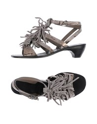 Henry Beguelin Sandals Grey