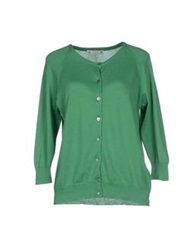 Peacock Blue Cardigans Green