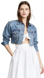 Levi's Cropped Trucker Jacket Off The Grid