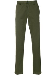 Zadig And Voltaire Straight Leg Chinos Green