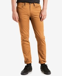 Levi's 511 Slim Fit Jeans Commuter Spicy Brown Mustard