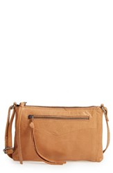 Day And Mood Vera Leather Crossbody Bag Brown Camel