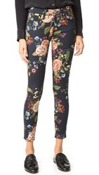 7 For All Mankind The Ankle Skinny Jeans English Botanical