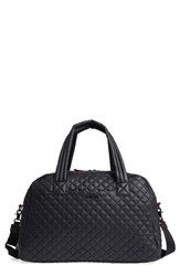 M Z Wallace Mz Jim Quilted Nylon Duffel Bag Black