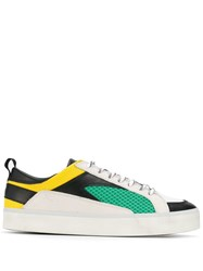 D.A.T.E. Mesh Low Top Trainers White