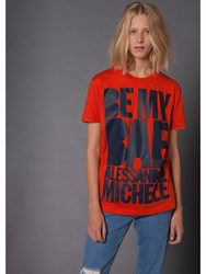 House Of Holland 10Th Anniversary Michele T Shirt Red