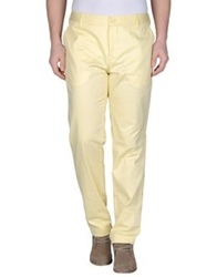 Versace Jeans Casual Pants Light Yellow