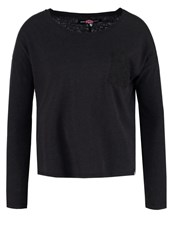 Superdry Long Sleeved Top Black