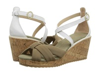 Tommy Bahama Niniva Twill Women's Wedge Shoes Taupe