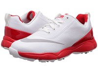 Nike Control Jr. Littlle Kid Big Kid White Metallic Silver Bright Crimson Men's Golf Shoes