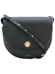Mansur Gavriel Hobo Crossbody Bag Women Leather One Size Black