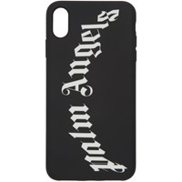 Palm Angels Black And White Arch Logo Iphone X Case
