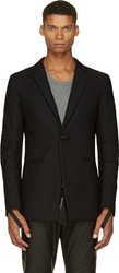 Alexandre Plokhov Black Rippled Blazer