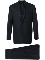 Kiton Straight Fit Suit Grey