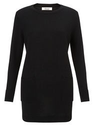 Alice By Temperley Somerset By Alice Temperley Two In One Knit Jumper Black White