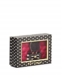 Betsey Johnson Boxed Bow Tab Wallet Fuchsia