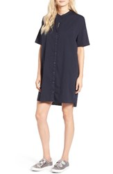 James Perse Women's Rolled Sleeve Shirtdress